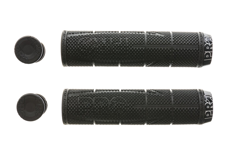 PRO Lock-On Race Grips 130mm Black drive side