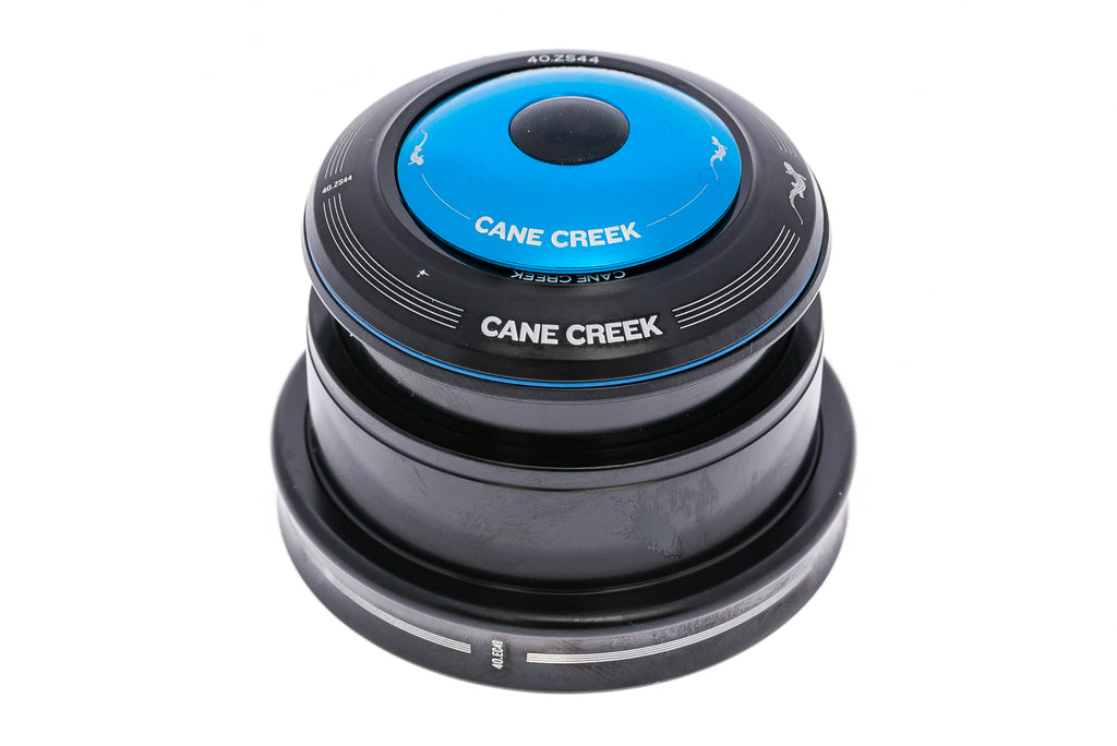 Cane Creek Forty Headset ZS44/28.6 EC49/40 Black/Blue drive side