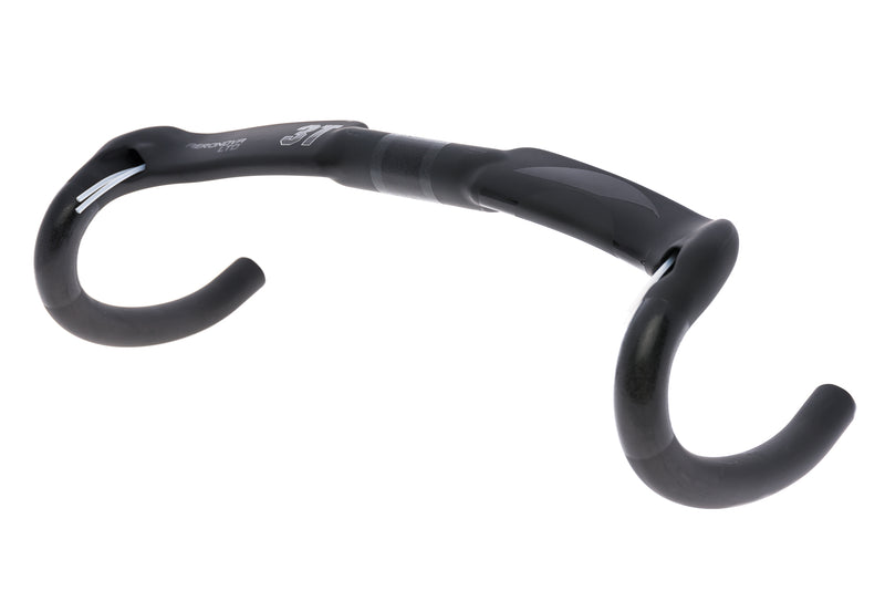 3T Aeronova LTD Handlebar 31.8mm 40cm Carbon Stealth Black drive side