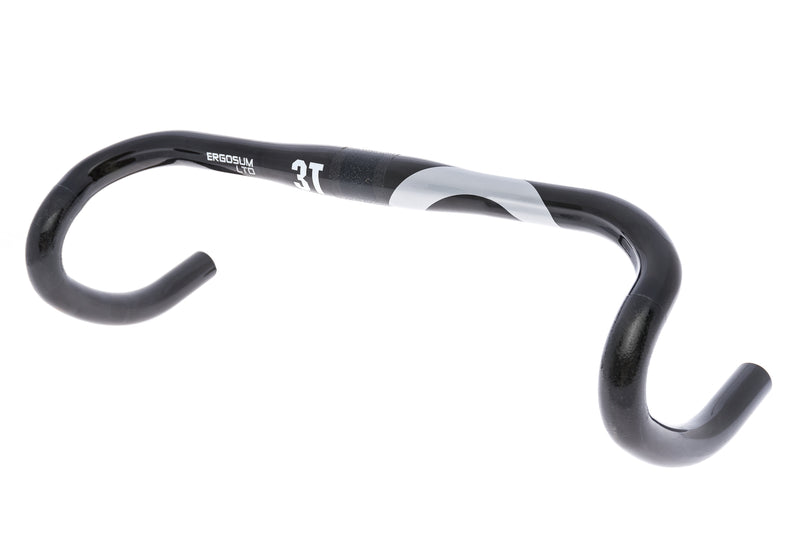 3T Ergosum LTD Handlebar 31.8mm x 42cm Carbon Black drive side