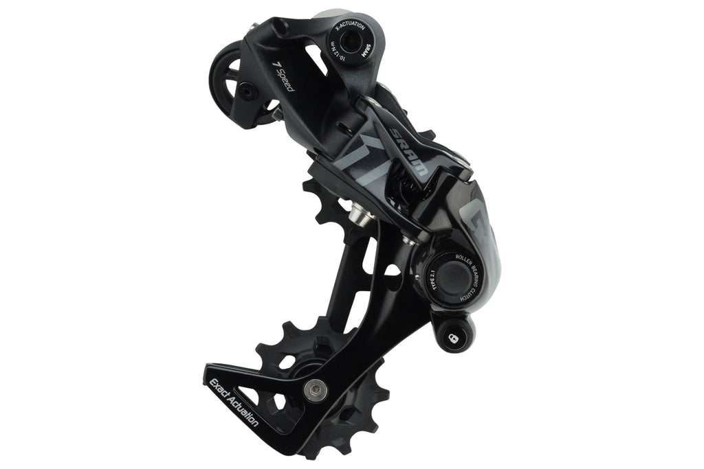 SRAM GX DH Rear Derailleur 7 Speed Medium Cage Black - Pre-Owned