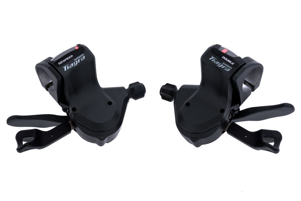 Shimano Tiagra SL-4700-R/L Flat Bar Shifter Set 2x10 Speed drive side