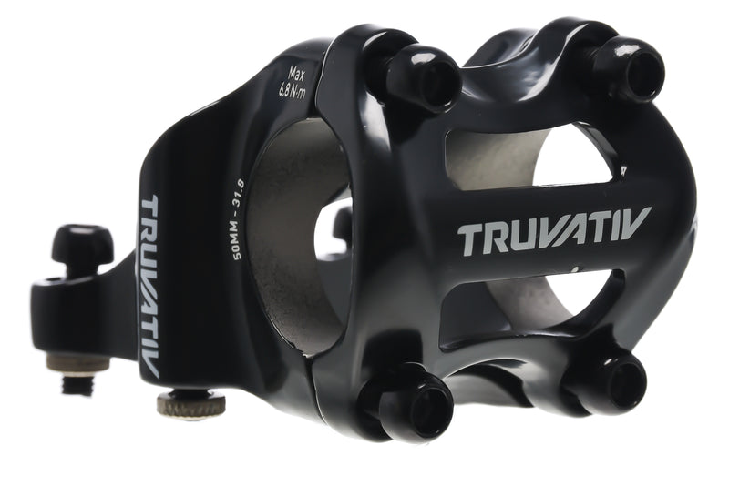 Truvativ Holzfeller Direct Mount Aluminum Stem 31.8mm Clamp 50mm 0 Degree Black drive side