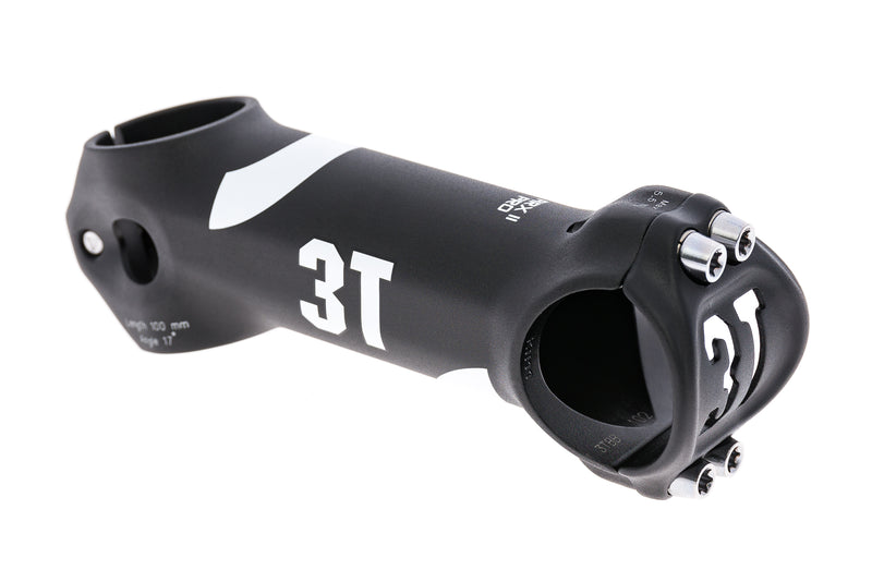 3T ARX-II Pro 31.8mm 100mm 17 Degree Aluminum Black/White drive side