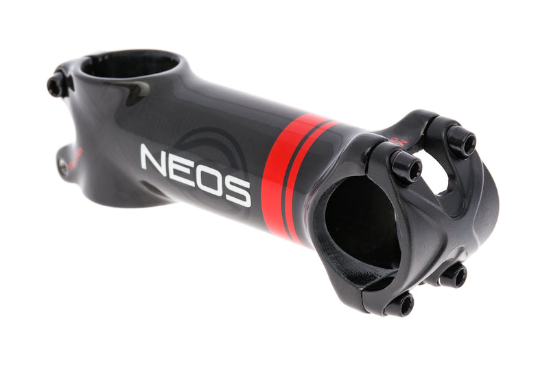 Cinelli Neos Aluminum Stem 31.8mm Clamp 100mm 6 Degree Black drive side