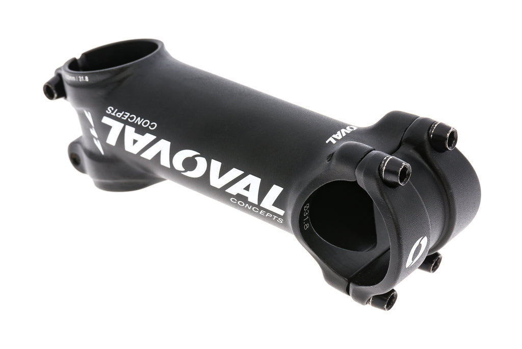 Oval Concepts 717 Stem 31.8mm 100mm 17 Degree Aluminum Black drive side