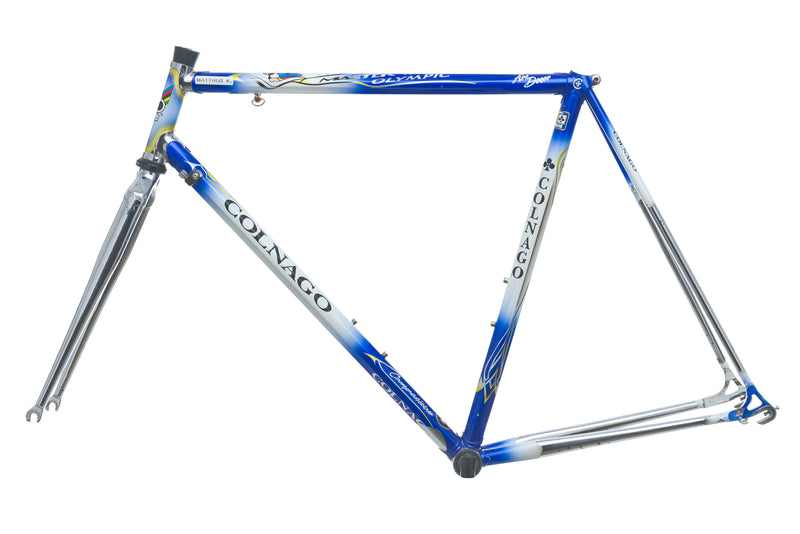 Colnago Master Olympic Competition 55cm Frameset - Vintage non-drive side