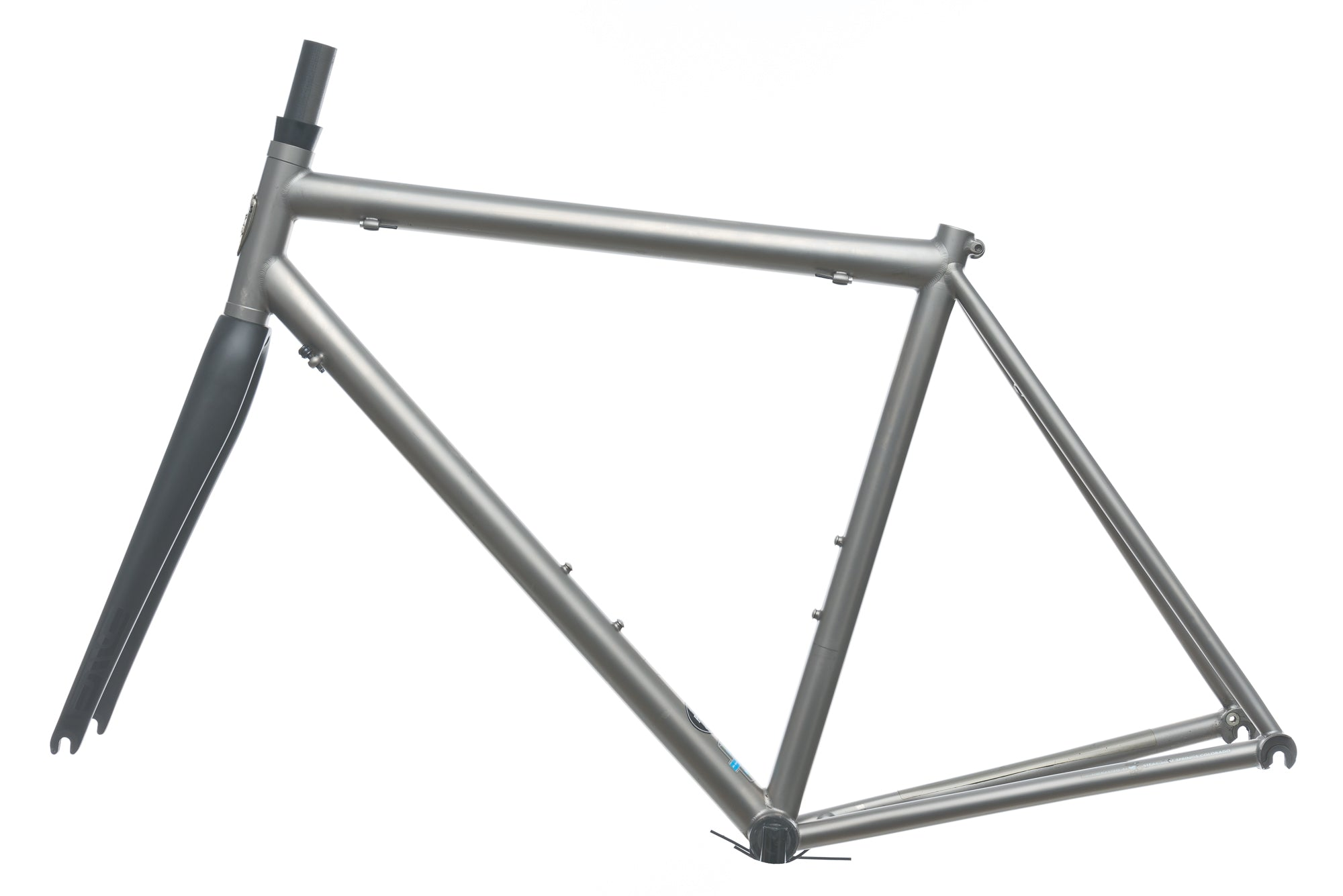 Moots Compact 56cm Frameset - 2007 non-drive side