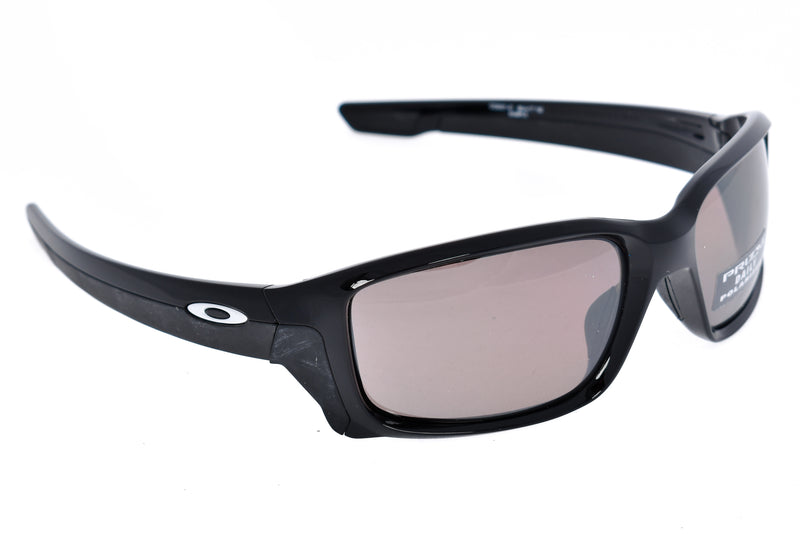 Oakley Straightlink Sunglasses Black Frame Prizm Lens drive side