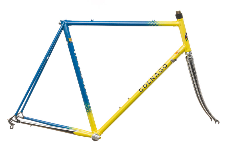 Colnago Super Large 56cm Frameset - 1988 drive side