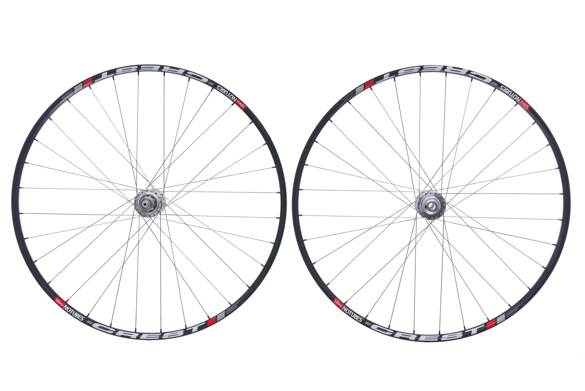 "Chris King Stan's NoTubes Crest Aluminum Clincher 29"" Wheelset non-drive side"