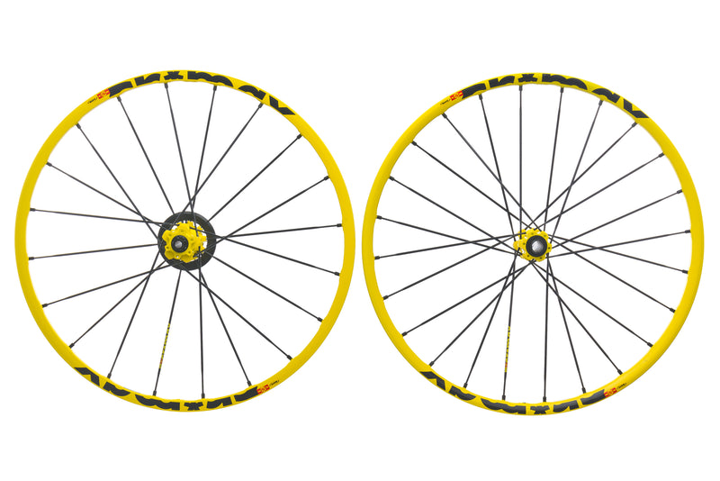 "Mavic Crossmax Enduro Aluminum Tubeless 27.5"" Wheelset drive side"