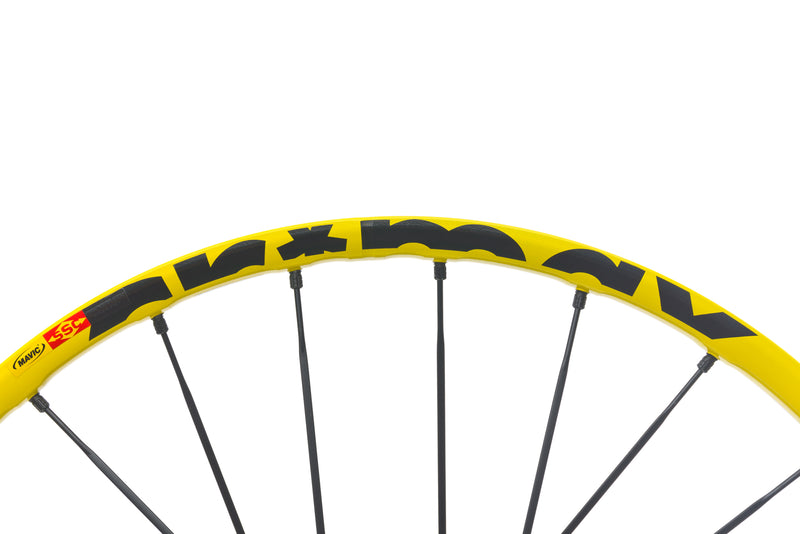 "Mavic Crossmax Enduro Aluminum Tubeless 27.5"" Wheelset front wheel"