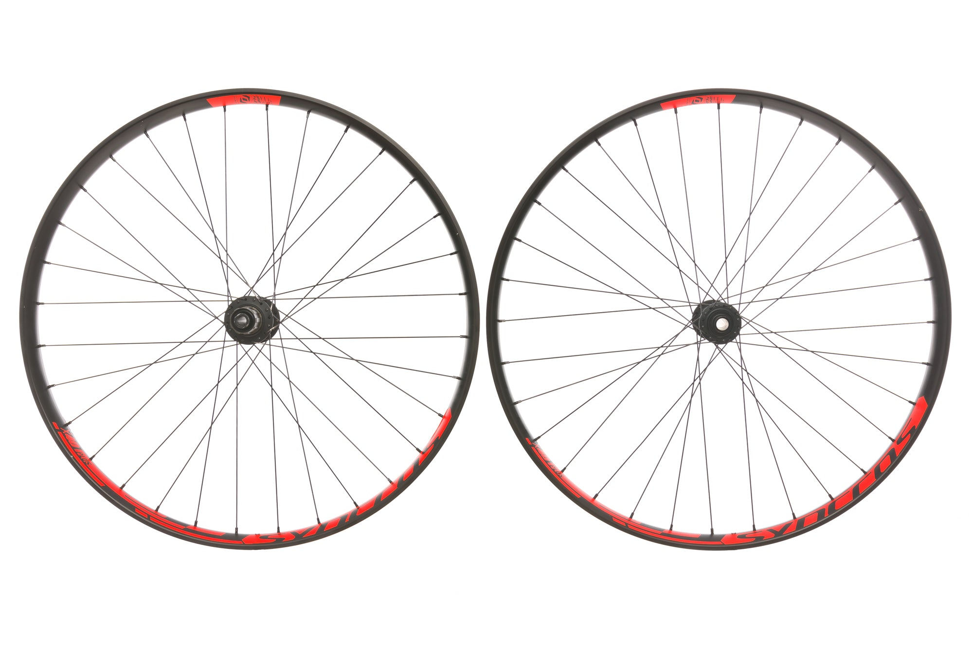 "Syncros X40 Aluminum Clincher 27.5"" Wheelset non-drive side"