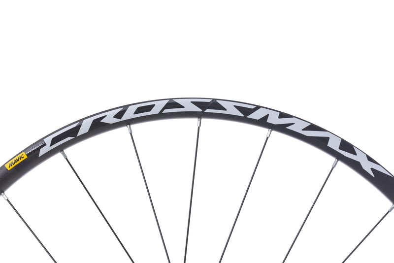 "Mavic Crossmax Aluminum Tubeless 29"" Wheelset cockpit"