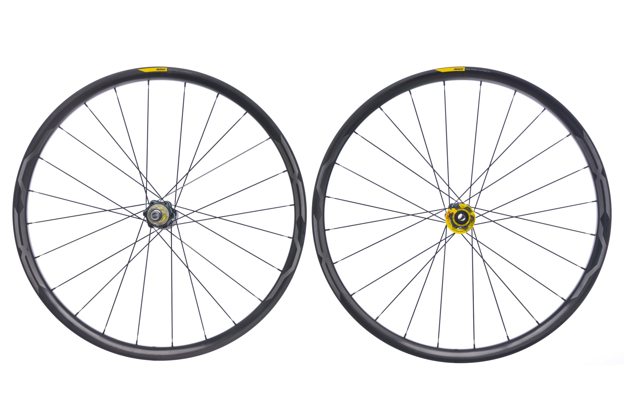 "Mavic XA Pro Carbon Clincher 29"" Wheelset drive side"
