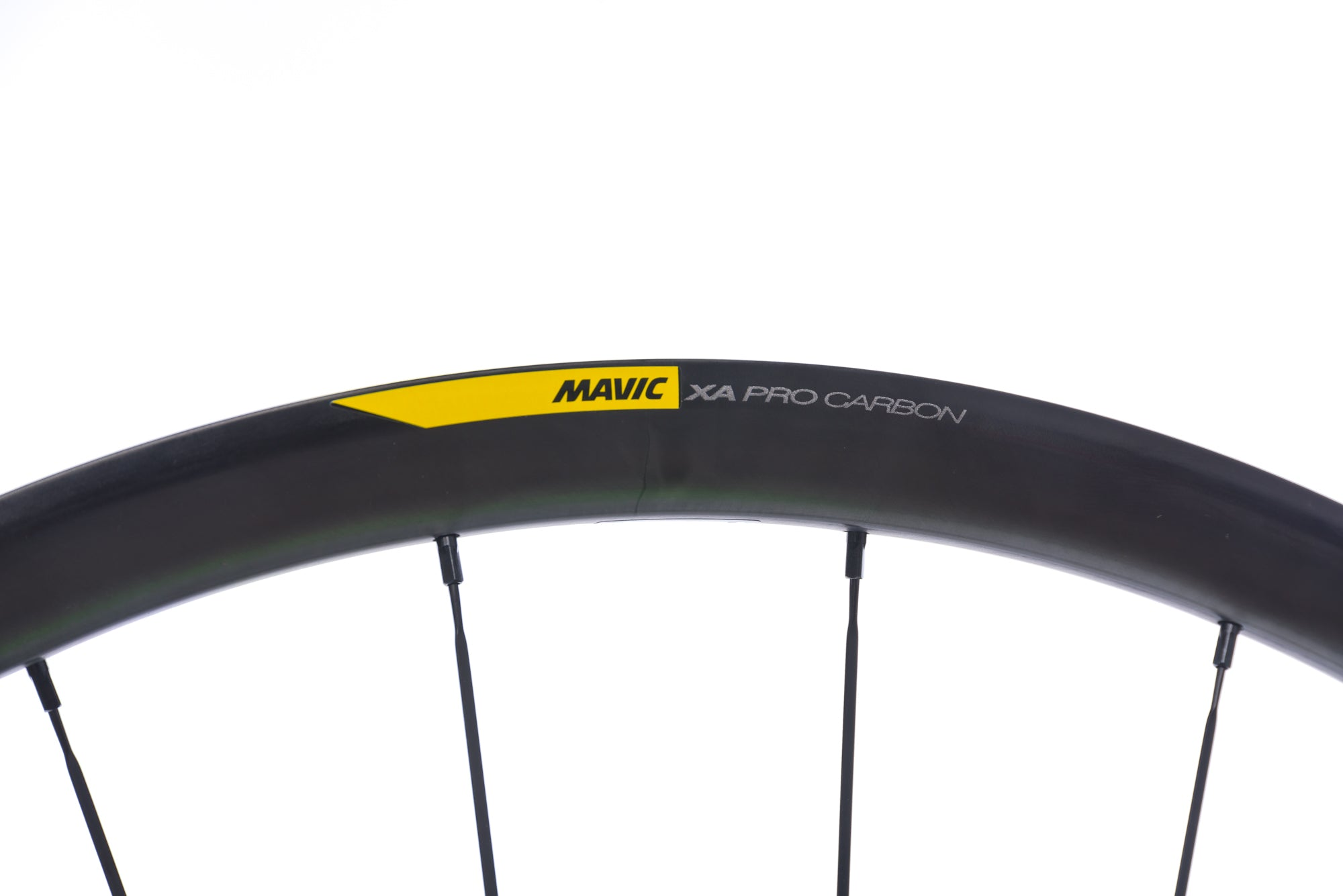 "Mavic XA Pro Carbon Clincher 29"" Wheelset cockpit"