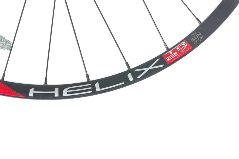 "Sun Ringle Helix TR 27 Aluminum Tubeless 29"" Wheelset front wheel"