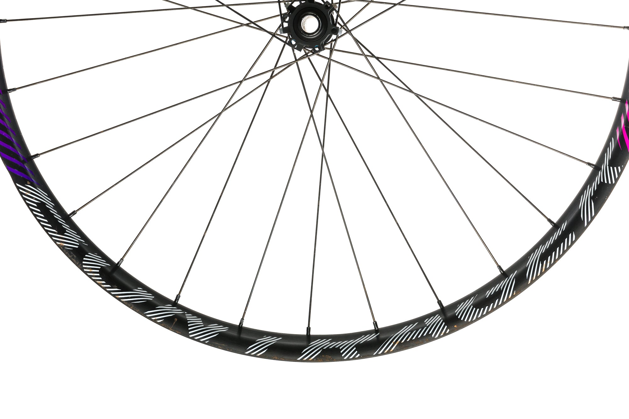 "Bontrager Line Plus Aluminum Tubeless 29""+ Front Wheel sticker"