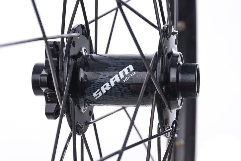 "SRAM Aluminum Tubeless 27.5"" Wheelset sticker"