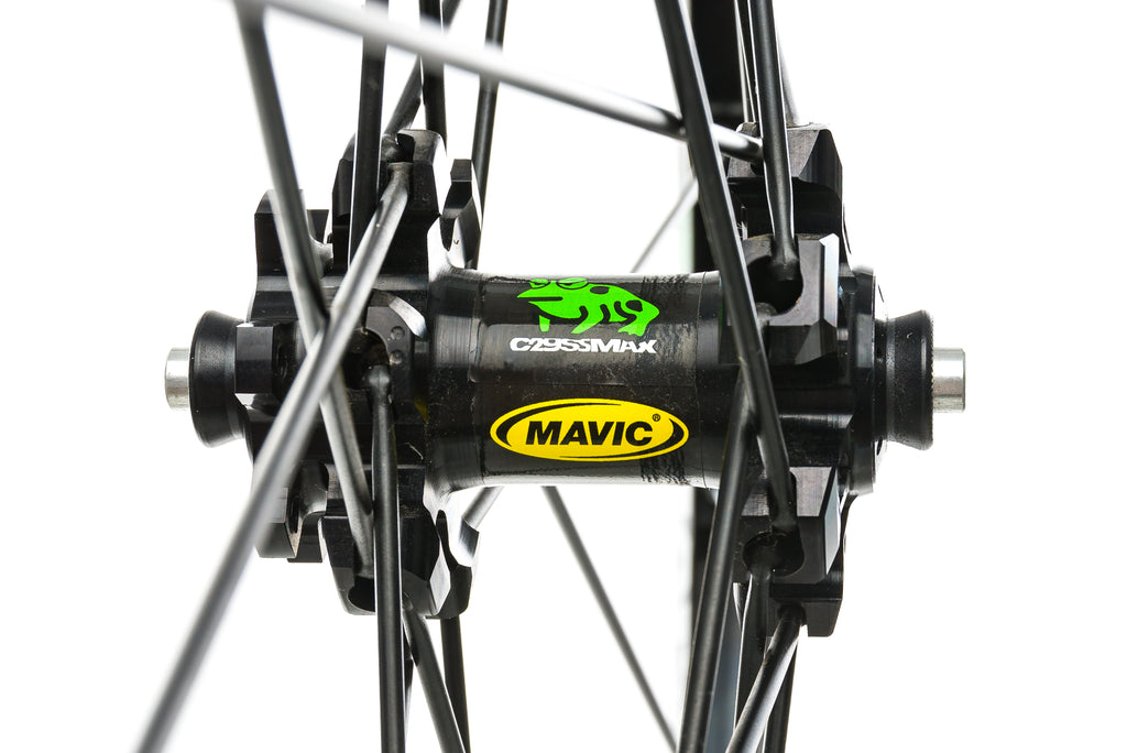 "Mavic Crossmax Aluminum Tubeless 29"" Front Wheel sticker"
