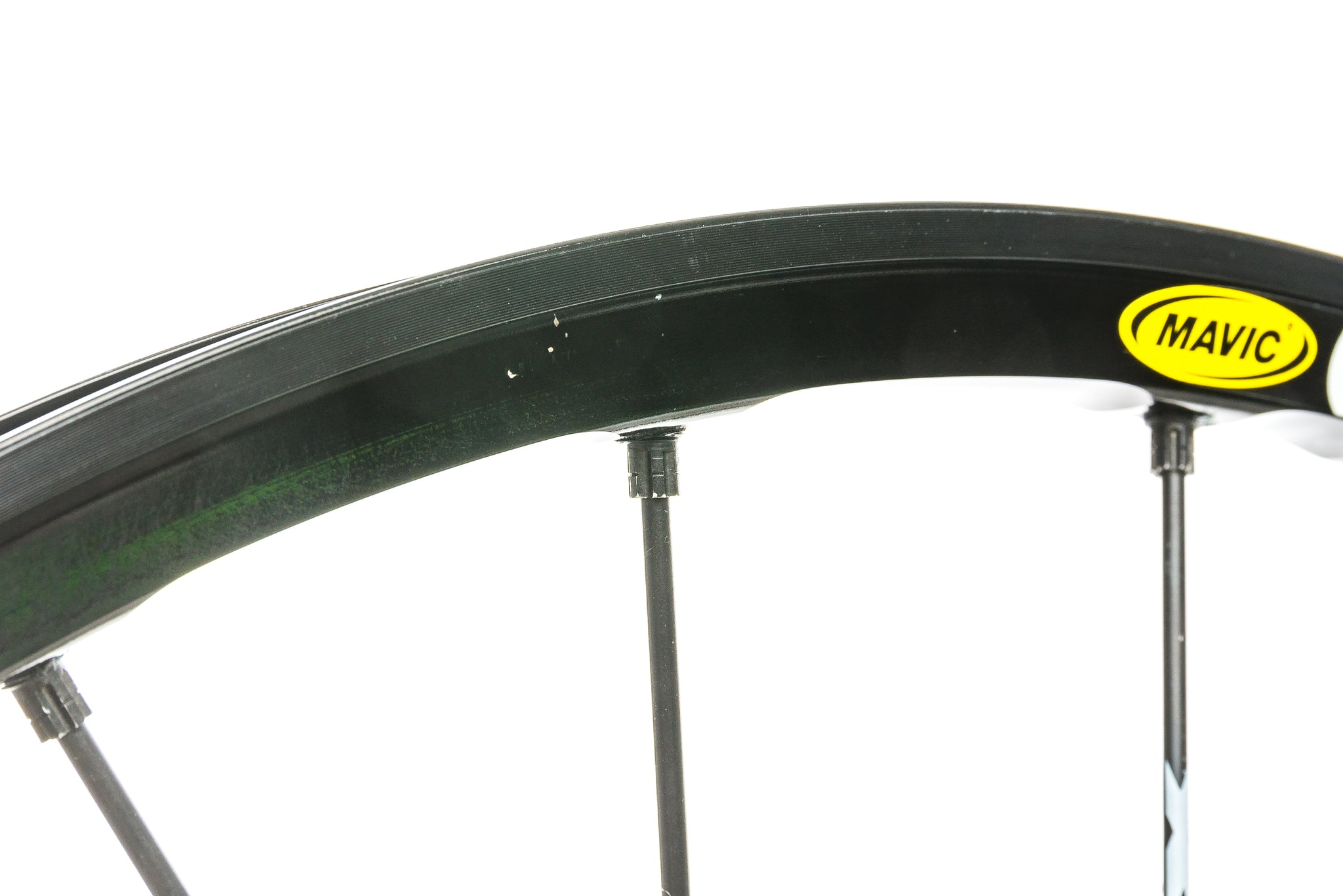 "Mavic Crossmax Aluminum Tubeless 29"" Front Wheel cockpit"