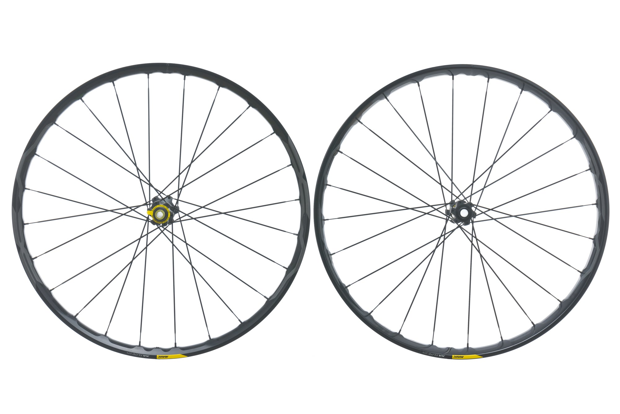 "Mavic XA Elite 27.5+ Aluminum Tubeless 27.5"" Wheelset drive side"