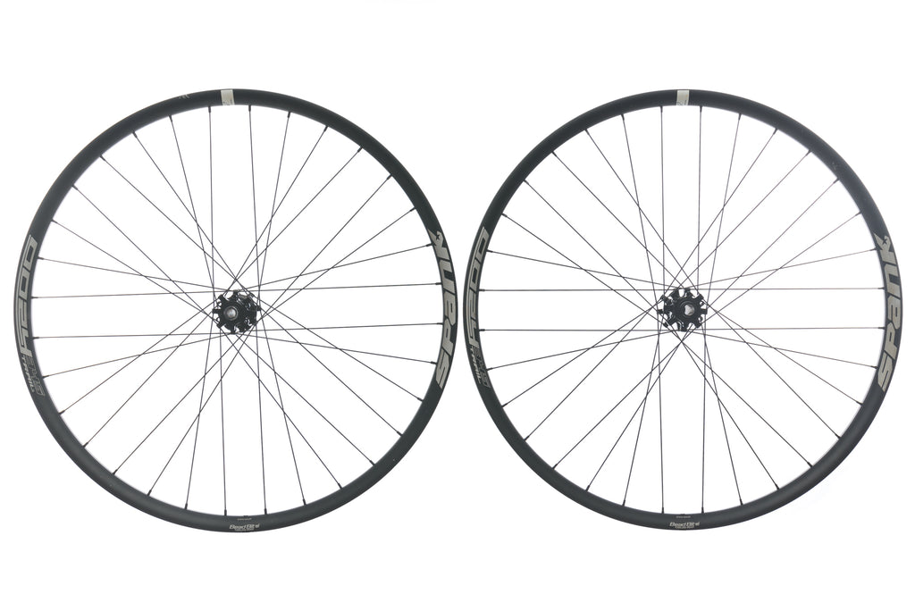 "Spank Oozy Trail 345 Aluminum Tubeless 29"" Wheelset drive side"