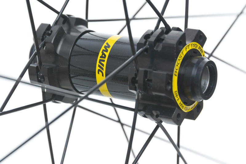 "Mavic XA Aluminum Tubeless 27.5"" Front Wheel sticker"