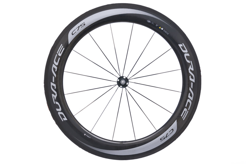 Shimano Dura Ace C75 Carbon Tubular 700c Front Wheel non-drive side