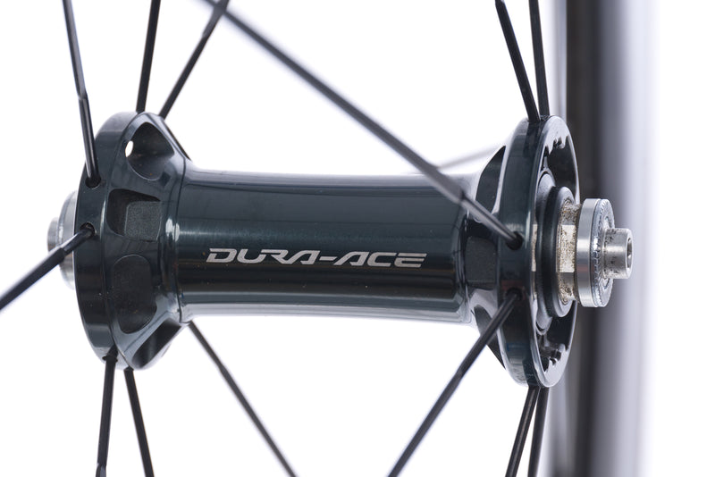 Shimano Dura Ace C75 Carbon Tubular 700c Front Wheel sticker
