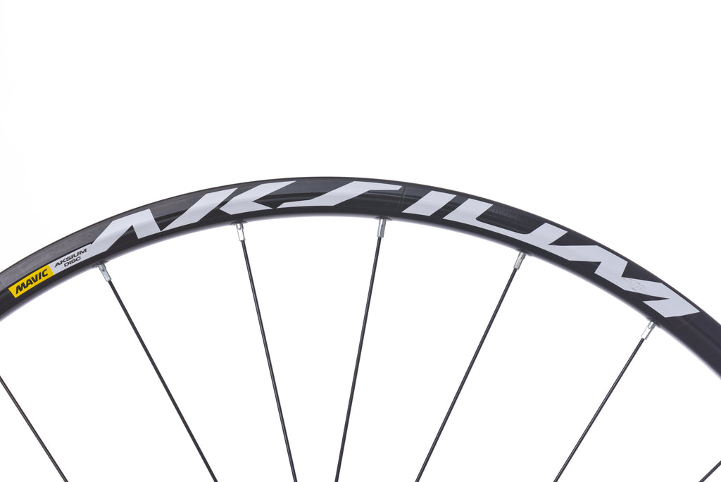 Mavic Aksium Disc Aluminum Clincher 700c Wheelset front wheel