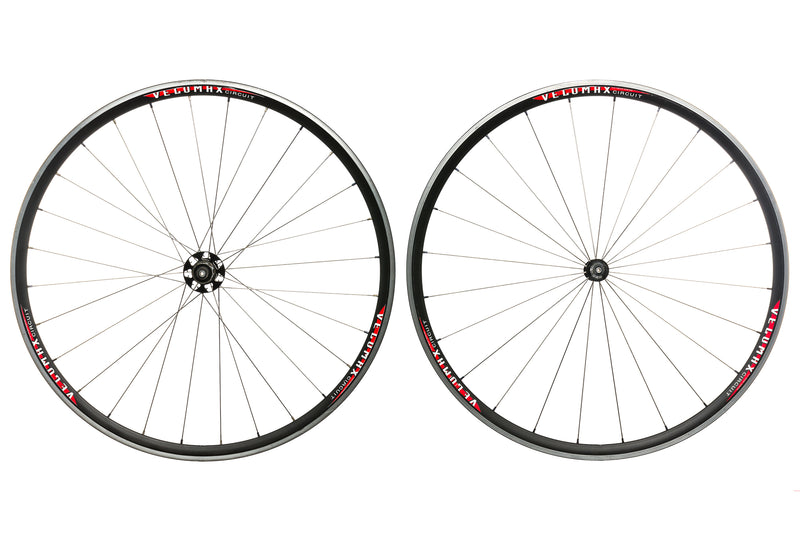 Velomax Circuit Aluminum Clincher 700c Wheelset non-drive side