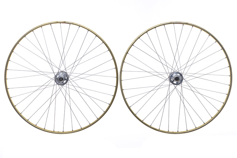 Campagnolo Record Mavic OR7 Aluminum Tubular 700c Wheelset drive side