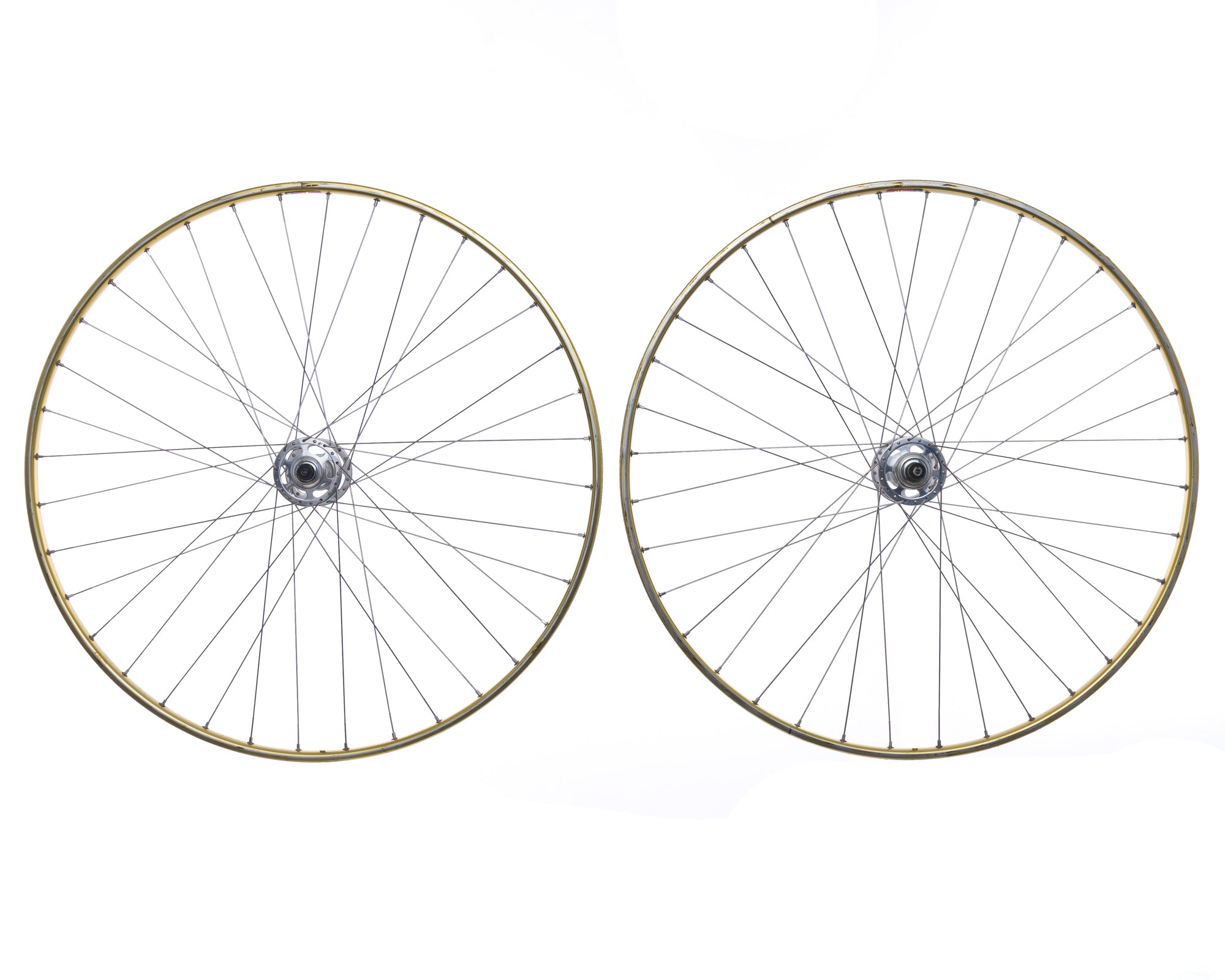 Campagnolo Record Mavic OR7 Aluminum Tubular 700c Wheelset non-drive side