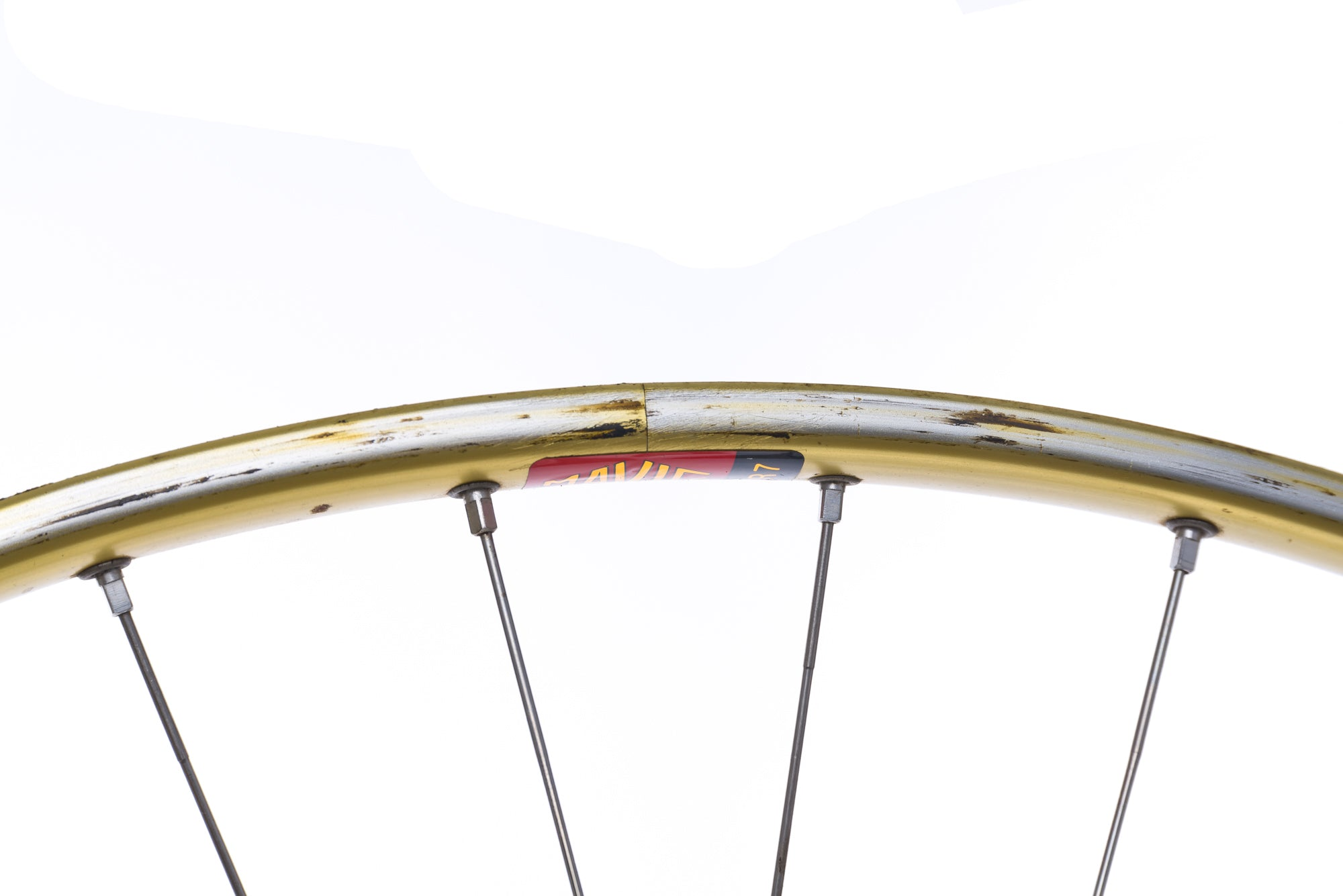 Campagnolo Record Mavic OR7 Aluminum Tubular 700c Wheelset cockpit