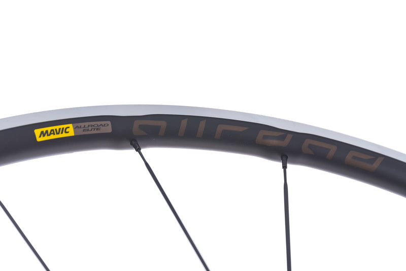Mavic Allroad Elite UST Aluminum Clincher 700c Wheelset front wheel