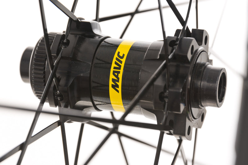Mavic Cosmic Elite UST Disc Aluminum Clincher 700c Wheelset sticker
