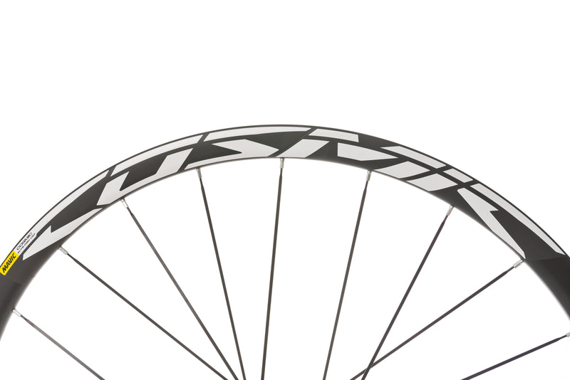 Mavic Cosmic Elite UST Disc Aluminum Clincher 700c Wheelset cockpit