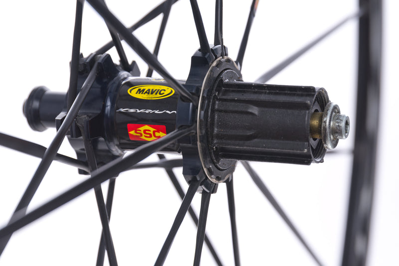 Mavic Ksyrium Road Bike Wheelset 700c drivetrain