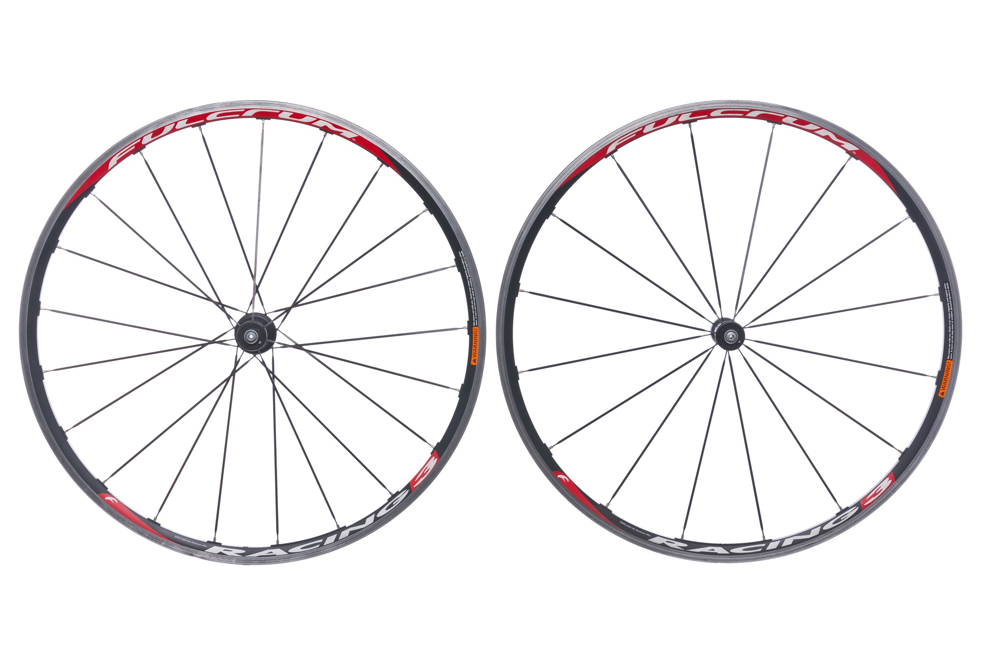 Fulcrum Racing 3 Aluminum Clincher 700c Wheelset drive side