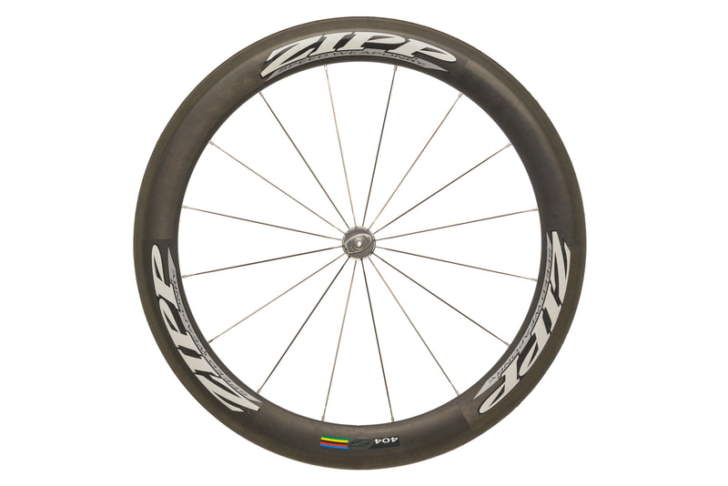 Zipp 404 Carbon Tubular 650c Front Wheel non-drive side