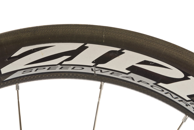 Zipp 404 Carbon Tubular 650c Front Wheel cockpit