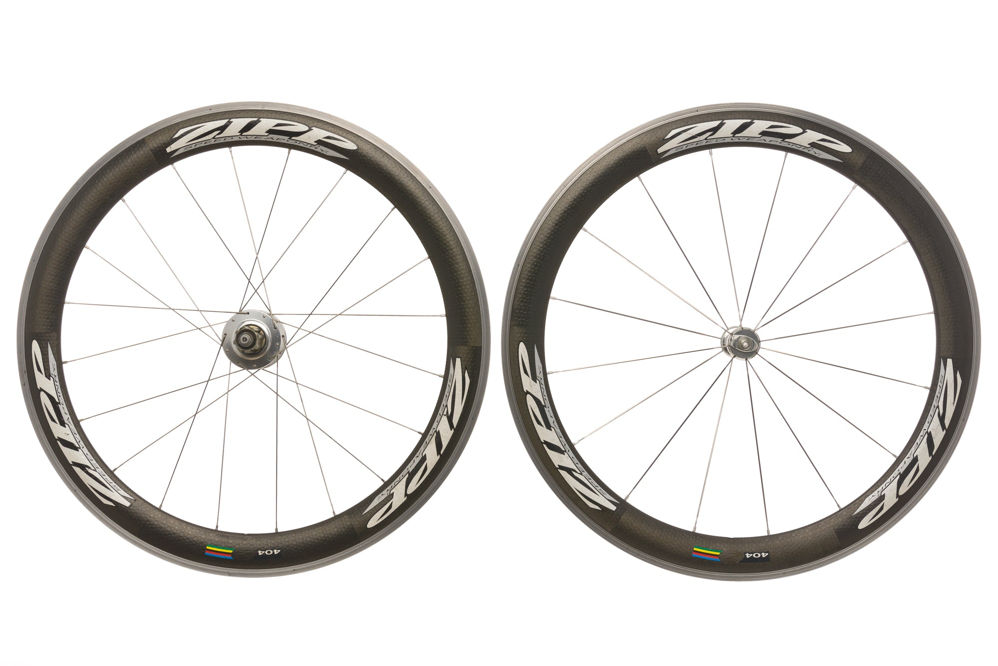 Zipp 404 Powertap SL+ Carbon Clincher 700c Wheelset non-drive side