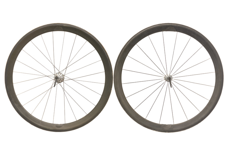 White Industries Carbon Tubular 700c Wheelset drive side