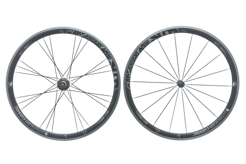 American Classic Carbon 38 Clincher 700c Wheelset non-drive side