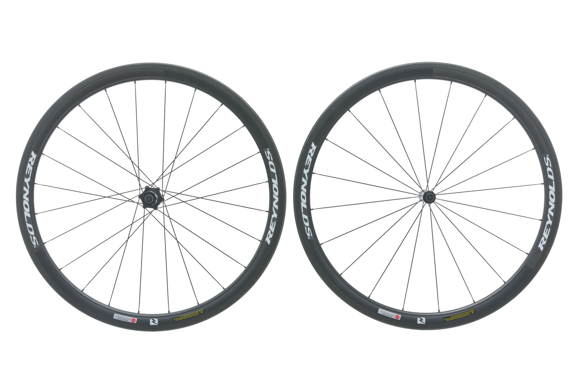 Reynolds Assault Carbon Clincher 700c Wheelset non-drive side