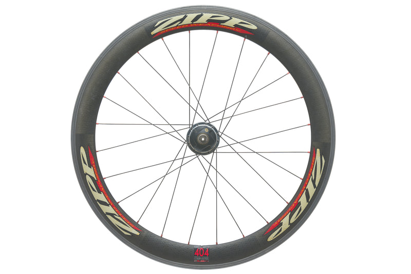 Zipp 404 / CycleOps Powertap SL Carbon Clincher 700c Front Wheel drive side
