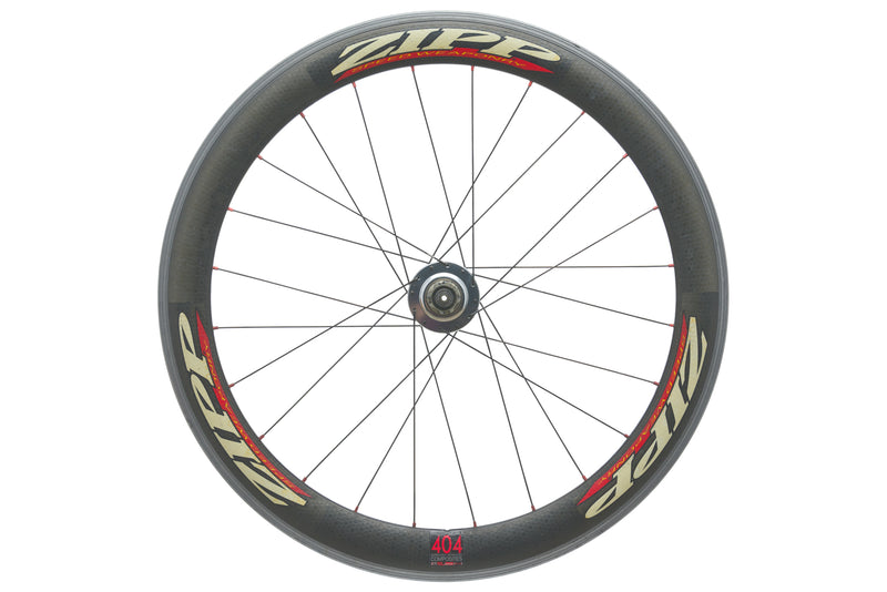Zipp 404 / CycleOps Powertap SL Carbon Clincher 700c Front Wheel non-drive side