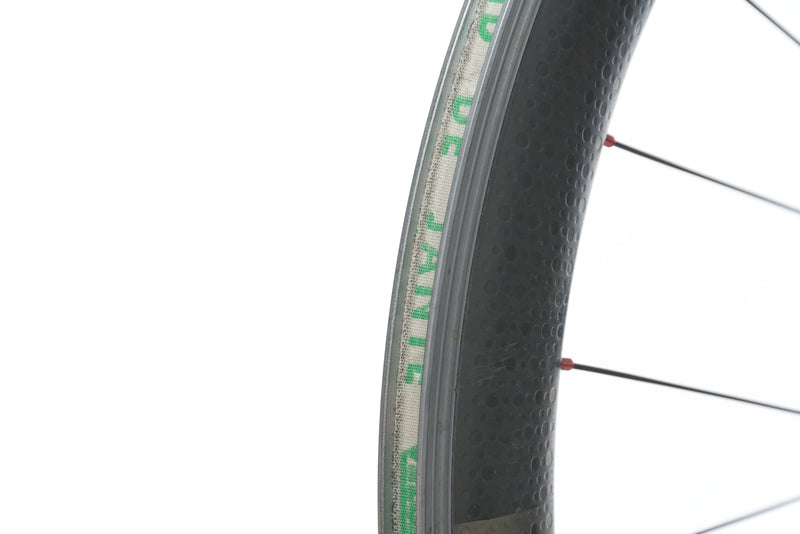 Zipp 404 / CycleOps Powertap SL Carbon Clincher 700c Front Wheel drivetrain